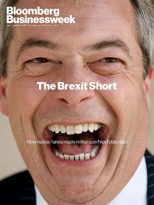Farage Businessweek cover