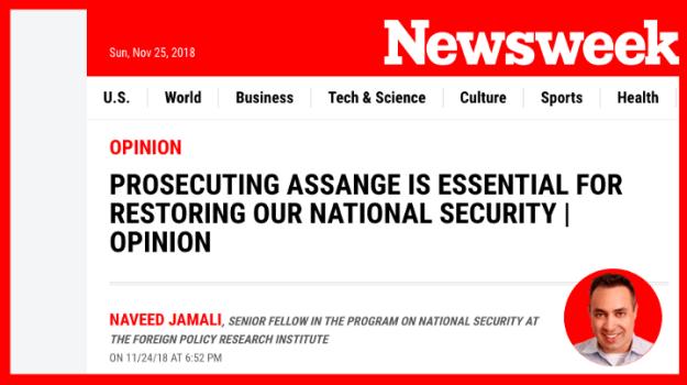 Newsweek-Wikileaks
