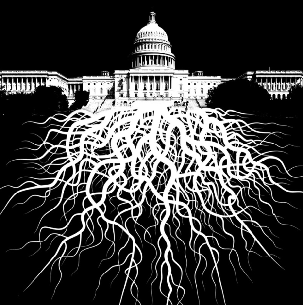 The Deep State faction behind Trump